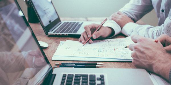 Formation Excel et données sur ordinateur portable